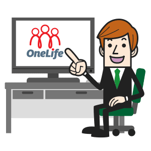 OneLIfe on screen
